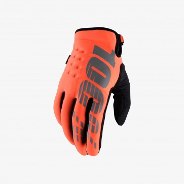 100% BRISKER Cold Weather Glove - Orange