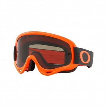 Oakley 2018 O Frame MX Goggle Adult (Orange Gunmetal) Dark Grey Lens