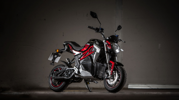 Lexmoto Cypher Fully electric Motorcycle