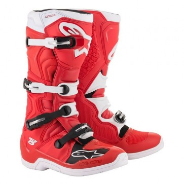 ALPINESTARS TECH 5 BOOT RED/WHITE
