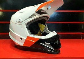 Thor S9 Sector Mips White/Red/Orange