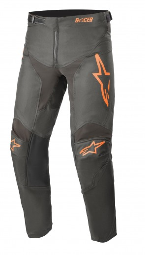 2021 YOUTH RACER COMPASS ANTHRACITE/ORANGE PANT