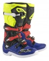 ALPINESTARS TECH 5 BOOT BLUE/BLACK/YELLOW FLO/RED