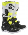 ALPINESTARS TECH 5 BOOT BLACK/WHITE/YELLOW FLO