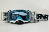 RIP N ROLL PLATINUM GOGGLE WHITE 48MM ROLL OFF
