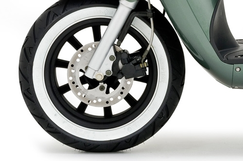 Front disc braking system