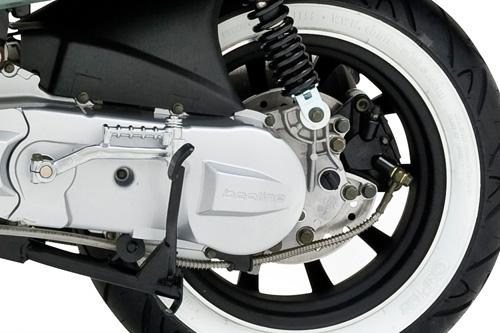 Rear disc braking system