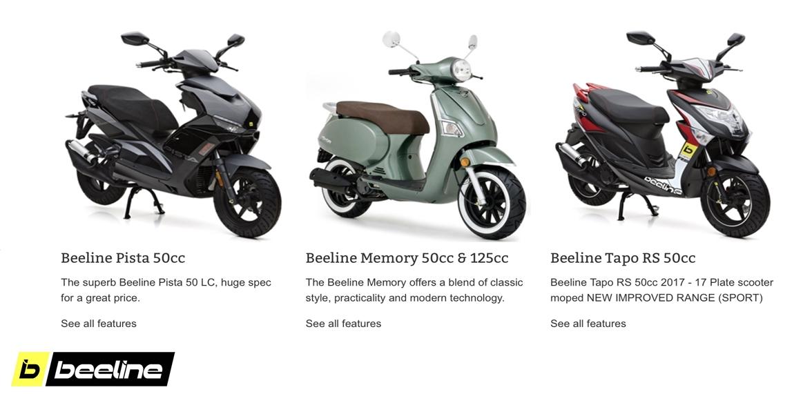 sps beeline scooters